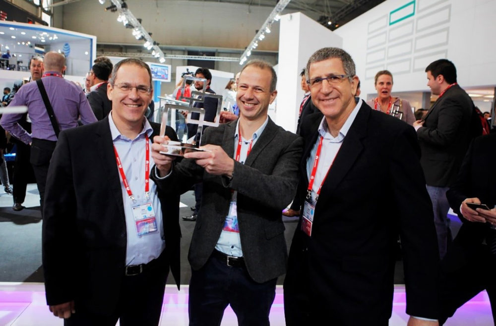 Anagog was Announced as the Winner for Best Mobile Innovation in Automotive GSMA's Glomo Award at the 2016 Mobile World Congress in Barcelona